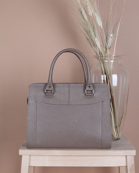 Женская сумка Divalli A021 taupe mini grain